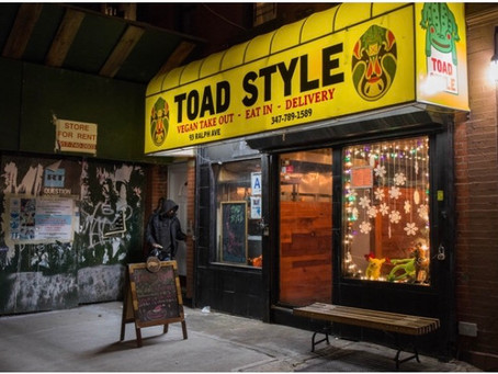 Dig Into Hearty Vegan Food At This Bed-Stuy Joint With Kung Fu Flair
