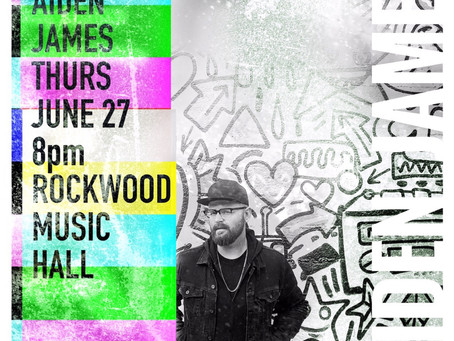 Just Announced Aiden James NYC World Pride Concert