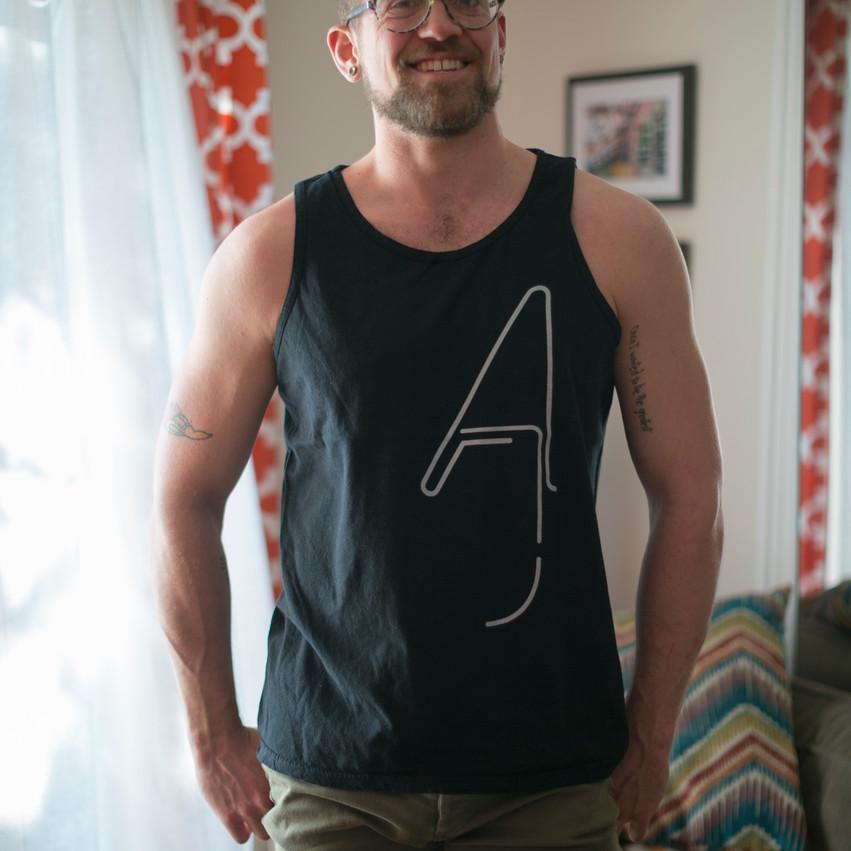 Aiden James TankTop Model Jay Austin
