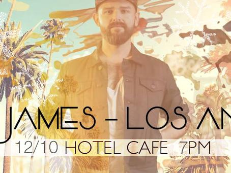 LA Release Concert Hotel Cafe December 10, 2017