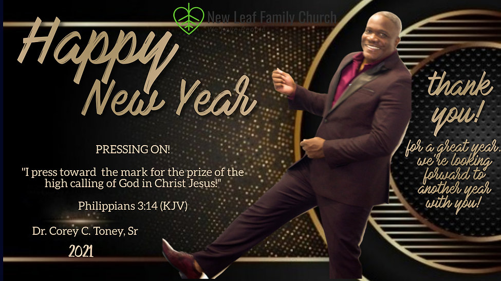 Copy of Church happy new year pastor des