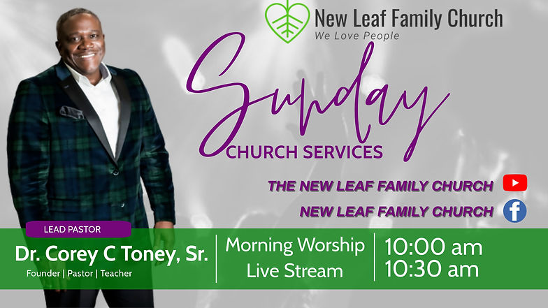 Copy of online church flyer - Made with