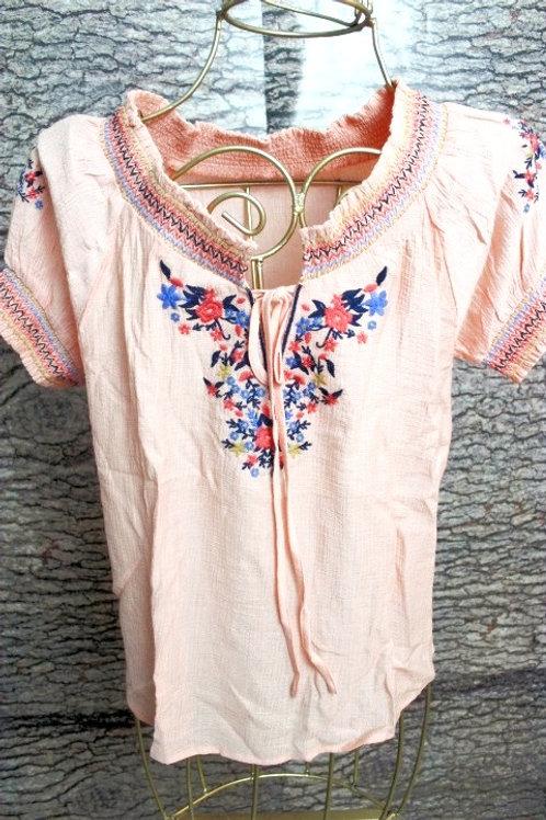 Blusa Colores Bordada