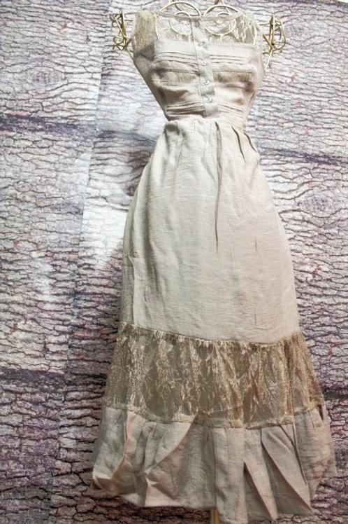Vestido Largo De Gasa