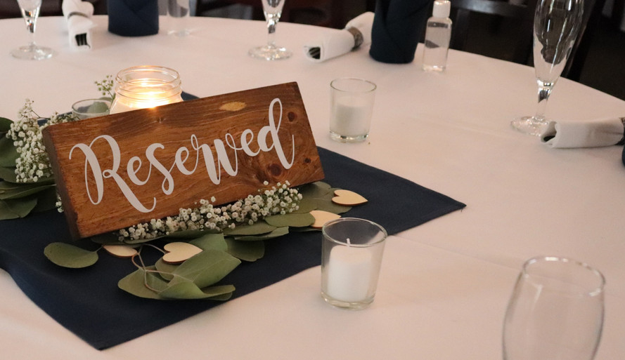Reserved for You