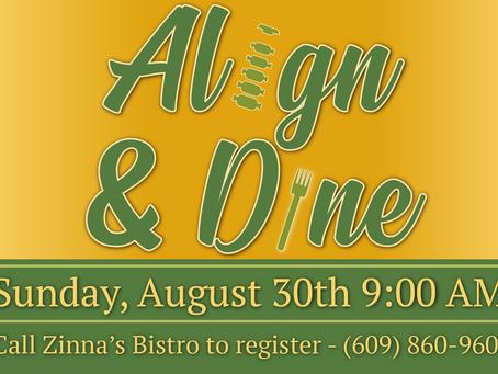 Align & Dine