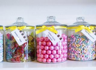 Truc événementiel: La table à bonbon!