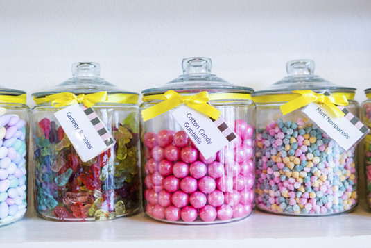 Twist Events Candy Jars
