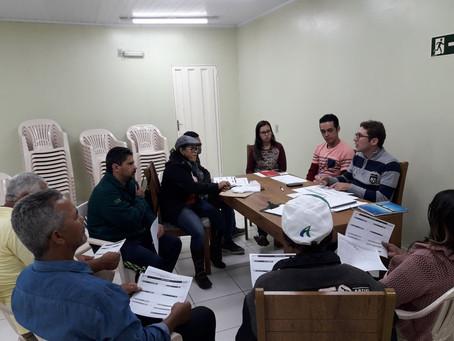 Diretoria elabora projeto e plano de ação 2018