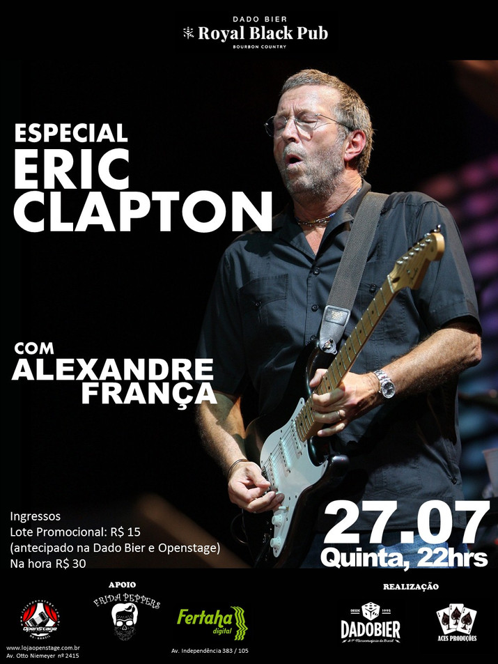 Black Ipa Blues, Especial Eric Clapton