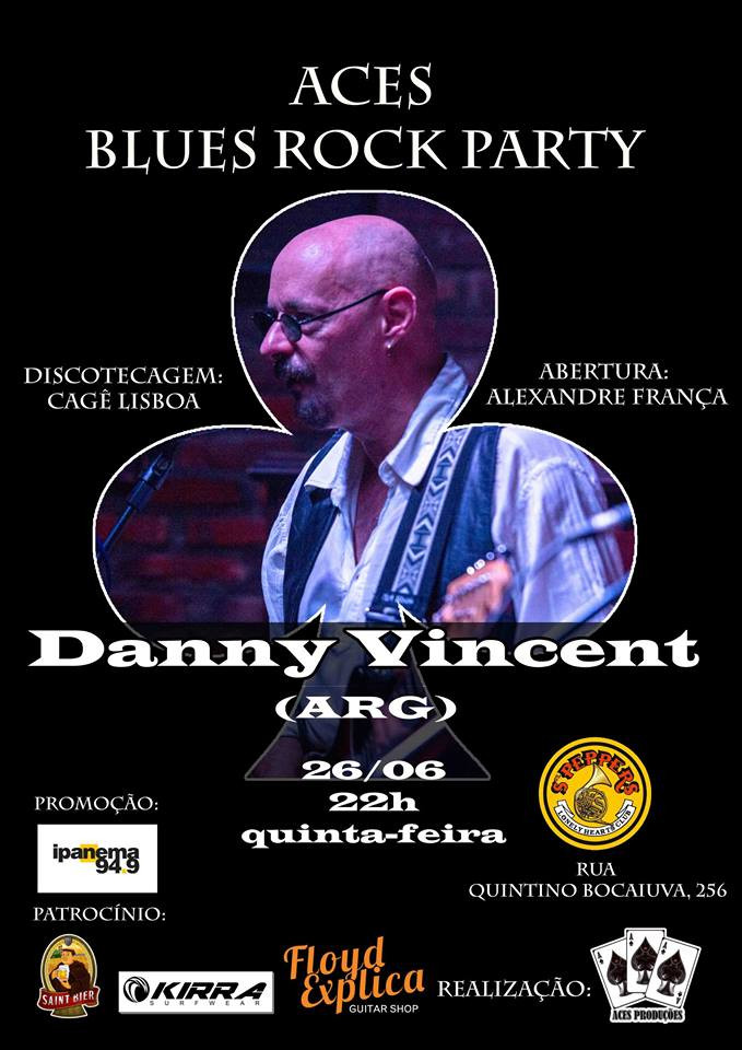 Aces Blues Rock Party, com Danny Vincent (ARG)