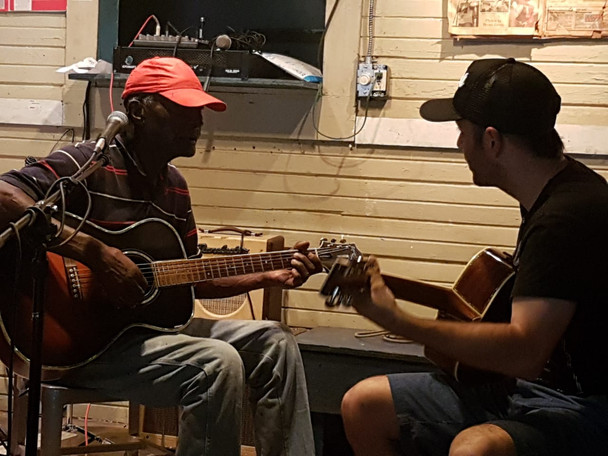 A blues master class at legendary Blue Front Cafe in Bentonia, Mississippi