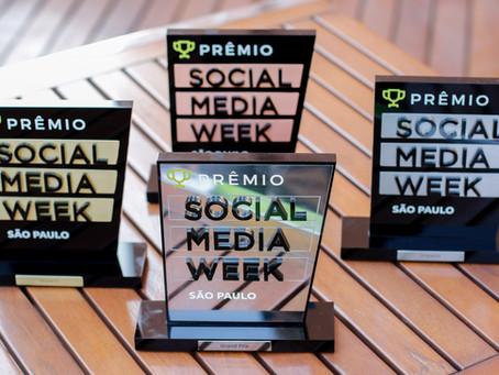 Prêmio Social Media Week 2017 – Agência de redes sociais ganha prêmios de resultados