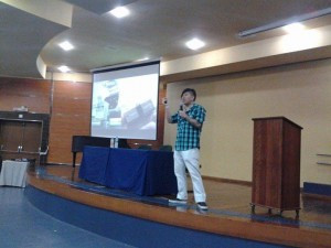 Palestra sobre redes sociais na USP