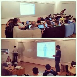 Ministrando cursos e treinamentos sobre redes sociais e inovação
