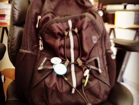 O que um palestrante profissional carrega na mochila?