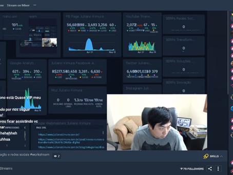 O que é Workstream, a transmissão ao vivo de trabalho?
