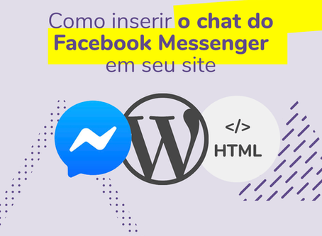 Chat do Facebook em seu site WordPress sem plugin!