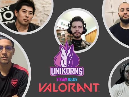 Copa Valorão -  Unikorns vs Cerberus - O time de E-Sports da Streamholics marca presença em Valorant