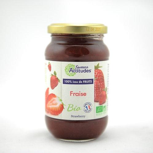 SA Bio Aardbeienconfituur 310 g