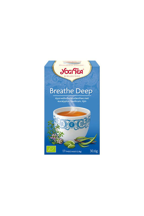 Yogi thee Breathe deep bio