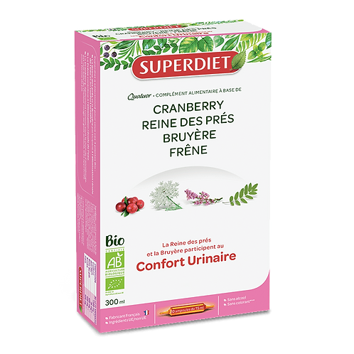 Super Diet cranberry bio 20x15ml