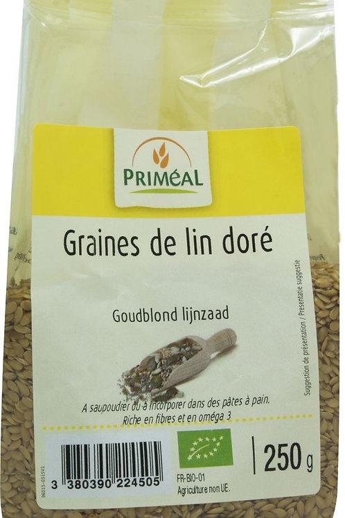PRIM Bio Goud lijnzaad 250 g