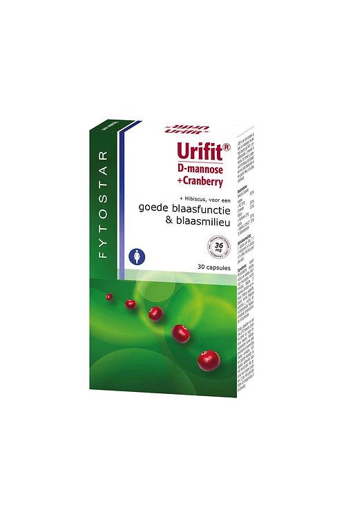 Urifit D-mannose + Cranberry 30 cap
