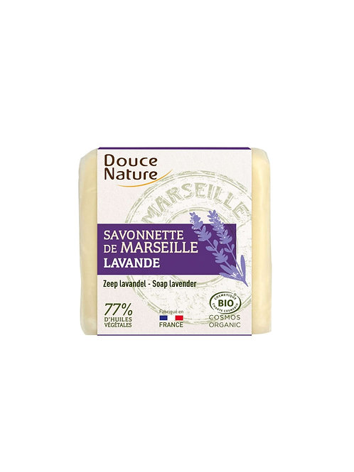 DOUCEN Bio Marseillezeep met lavendel 100 g