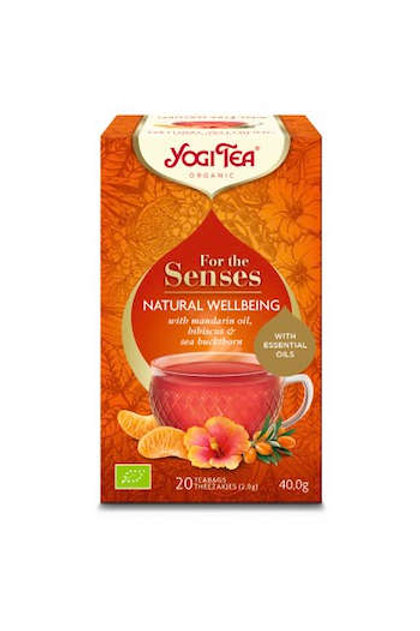 Yogi thee For the Senses natural wellbeing bio