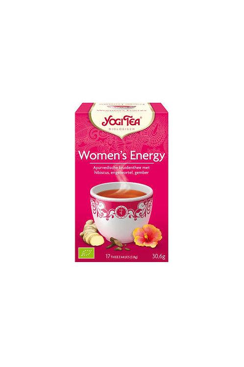 Yogi thee Women's energy bio
