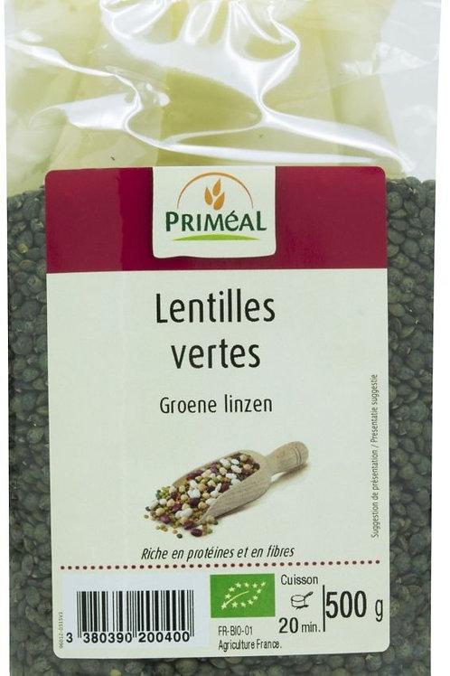 PRIM Bio Groene linzen 500 g