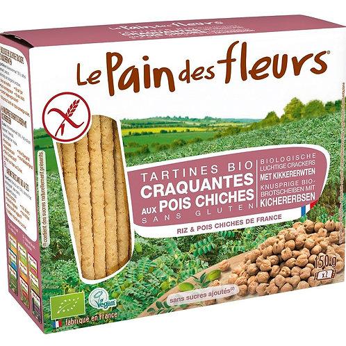 LPDF Bio Kikkererwtencrackers 150 g
