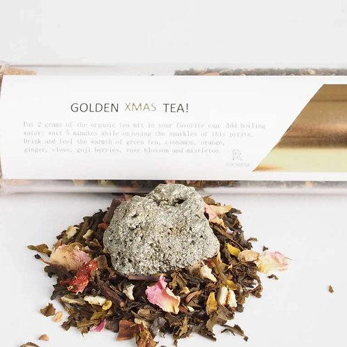 Rockstyle Golden Xmas tea