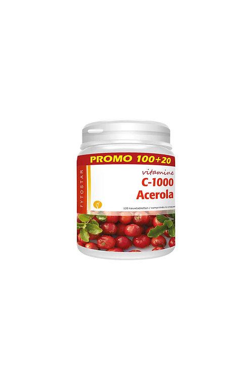 Acerola C-1000 MAXI100+20 tab