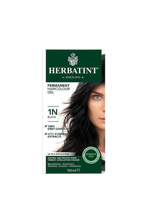 Herbatint1N Zwart 150 ml