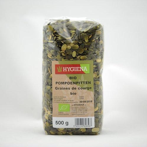 HYG Bio Pompoenpitten 500 g