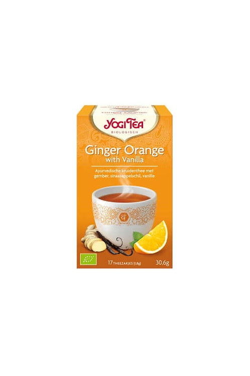 Yogi thee Ginger Orange with vanilla
