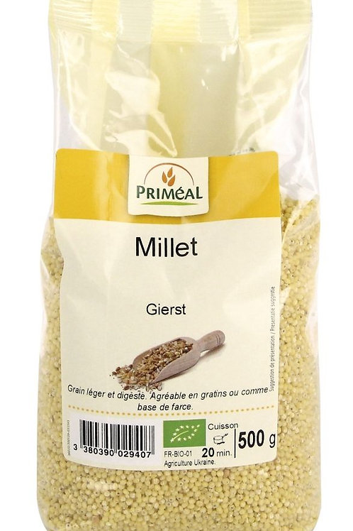 PRIM Bio Gepelde gierst 500 g