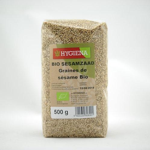 HYG Bio Sesamzaad ongepeld 500 g