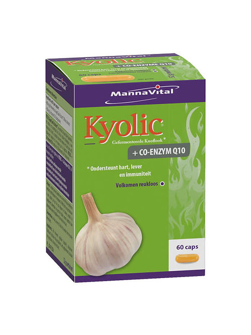MV Kyolic+Co enzyme Q10 60 caps
