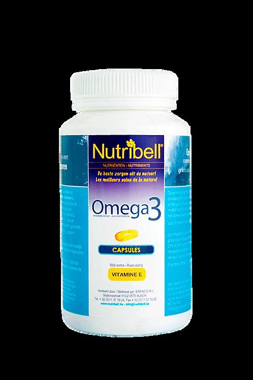 Nutribell Omega 3 visolie 120 caps