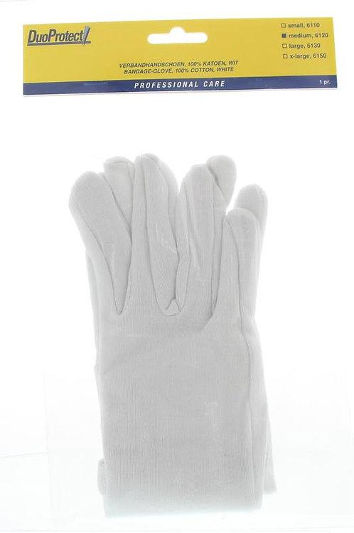 Duoprotect handschoen katoen L
