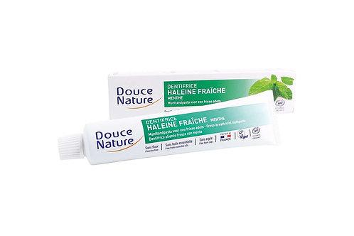 DOUCEN Bio Tandpasta met munt voor een frisse adem 75 ml