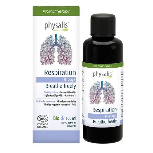 Physalis Massageolie Respiration 100ml