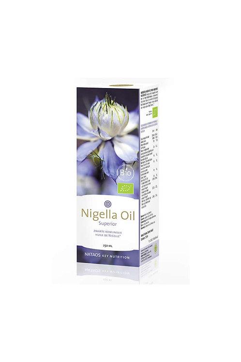 Nataos Nigella Oil Sup- Zwarte Komijnolie 250ml