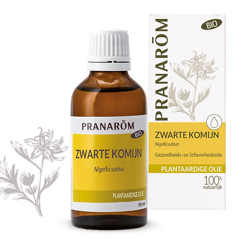 Pranarôm Zwarte Komijn olie 50ml