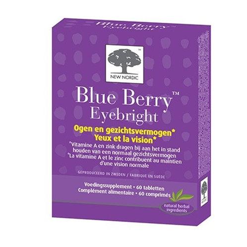 Blue Berry Eyebright 60 tab