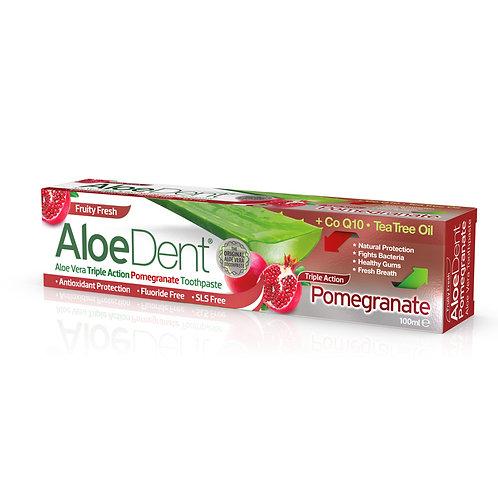 Aloe dent tandpasta grantaatappel