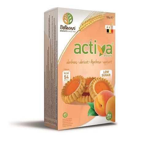 BELKOR Activa abrikooskoekjes 6 x 2 stuks 150 g